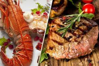 Treat Yourself To This Delicious Surf N Turf Meal For 2 People at Niarbyl! ONLY £29.99!