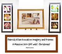 Incredible 20% OFF from Patrick Kilian Evocative Imagery and Frames