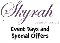 Christmas Beauty Events and OFFERS at Skyrah Beauty