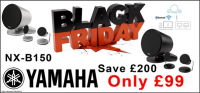 Save £200! Yamaha NX-B150 Speakers, Now Only £99. At A.N. Audio