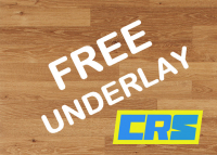 Free underlay with any laminate order