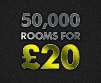 ONE NIGHT'S ACCOMMODATION FROM £20
