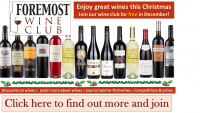 Join our wine club FREE in Dec
