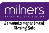Milners in Ashtead are closing their remnants department and replacing it with a new Rug Showroom – due in the New Year.