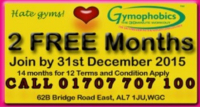 Gymophobics: 14 months Ladies' Gym membership for the price of 12