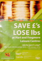 Save £s, lose lbs