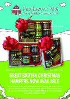 Christmas Hampers - 10% discount and a Free Gift.