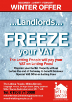 Winter Offer: For Landlords and  Buy-to-Let Investors