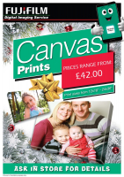CANVAS PHOTO GIFT PRINTS FROM JUST £42