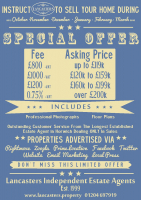 Special Offer on fees from Lancasters Estate Agents