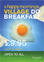 Village The Hotel Club -Solihull Do Breakfast