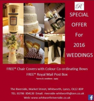 FREE CHAIR COVERS AND CO-ORDINATING BOWS