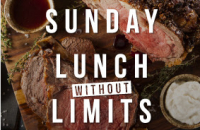 UNLIMITED SUNDAY CARVERY £12.95