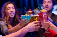 Happy Hour at Hard Rock Cafe - 2 for 1 Cocktails, and 50% off appetizers