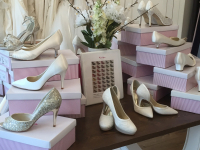 Shoes for £20 at Icon Bridal.
