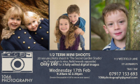 February 1/2 Term Mini Shoots - only £40!
