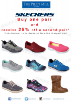 25% OFF SKECHERS SHOES
