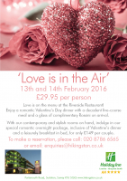 Love is in the Air at Holiday Inn