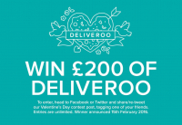 Win £200 of Deliveroo - HIGH END TAKE AWAYS!