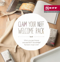 Free NEFF Cookaholics Welcome Pack!