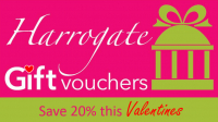 20% off Gift Vouchers this Valentines