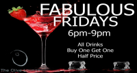 Fabulous Fridays at The Olive Lounge.