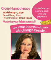 Half Price Group Hypnosis Session - Cocoon Healing Arts