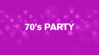 BUY ONE GET ONE FREE 70'S NIGHT