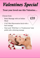 Valentines Special Offer at Peridot Beauty