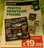 PHOTO MONTAGE FRAME JUST £19.99