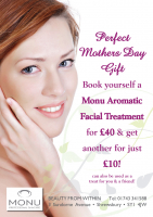 Buy £40 FACIAL, GET ANOTHER ONE FOR £10