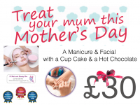 Manicure and Facial Mother's Day Package just £30