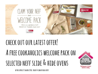 Claim your FREE Cookaholics welcome pack