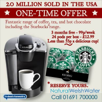 3 Months Free hire - Keurig Coffee Brewing System