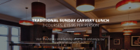Traditional Sunday Carvery Lunch at The Abbey Hotel