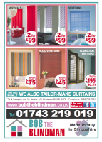 2 BLINDS FOR JUST £99