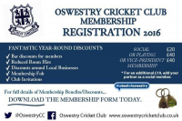 Save Money with Oswestry Cricket Club