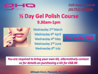 Half Day Gel Polish Course