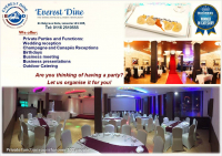 £100 gift voucher and FREE Venue Hire