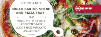 Free Bread Baking Stone and Pizza Tray!