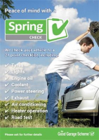FREE Spring Checks for your vehicle!