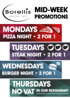 2 For 1 Tuesday Steak Night