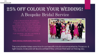 Colour your Wedding 25% Off