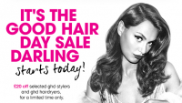 20% off selected GHD stylers and GHD hairdryers at Stonehills Hairdressing
