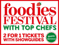 Brighton Foodies Festival 241 Ticket Offer - May Bank Holiday - Hove Lawns