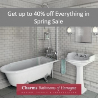 Spring sale - up to 40% off everything