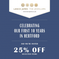 Celebrating our first 10 years in Hertford