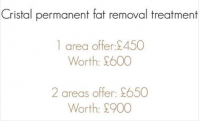 Save money in April on Fat Removal treatments at The Skin to Love Clinic in St Albans