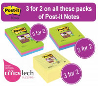 3 for 2 on Post-it Notes