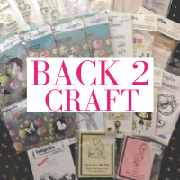 50% off selected stamps at Back 2 Craft!